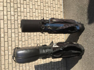 2 hard durable golf travel bags. Good cond $90 both. S Surrey.