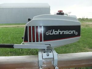 Like new 2.3hp johnson