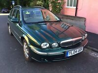 Jaguar X Type 2.0 Diesel Estate 5Dr 2004 Leather