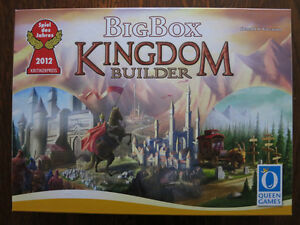Jeu Kingdom Builder Big Box game (Kickstarter edition)