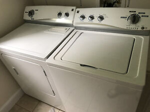 Both washer and dryer. Works perfectly