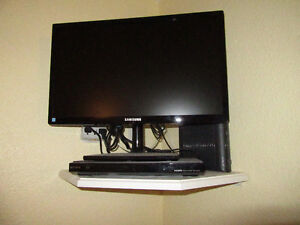 23 INCH samsung TV and Sony DVD player