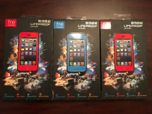 NO MORE FOR NOW! I-phone 5 LIFEPROOF cases NEW in box