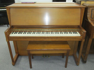 Four pianos for sale $1250 each incl warranty, delivery & tuning
