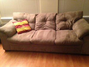 Couch and Loveseat - ONLY ONE YEAR OLD