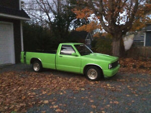 1989 s10 350 tbi and is need work on body job and few things