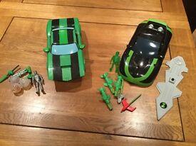 Ben10 & Kevin Levin Cars