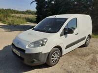 2012 Peugeot Partner 625 S Van 1.6 HDi 75 Diesel Manual White Spares or Repair
