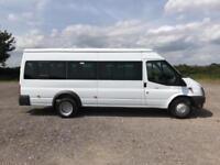Ford Transit T430 MEDIUM ROOF MINIBUS 135PS EURO 5 DIESEL MANUAL WHITE (2014)