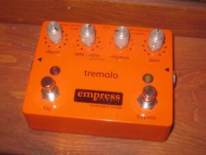 Empress Tremolo pédale pour guitare