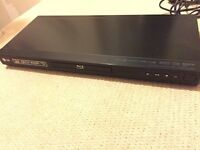 LG 3D Bluray Player with Network/USB streaming