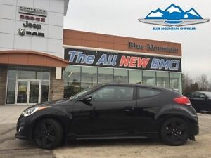 2015 Hyundai Veloster Turbo  ACCIDENT FREE, BLUETOOTH, BACK UP S