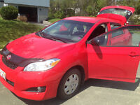 $500 dollars off if sold today - '09 Toyota Matrix