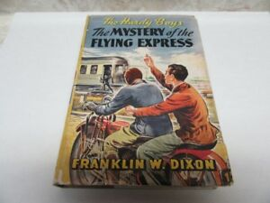 1941 HARDY BOYS FLYING EXPRESS W/DUSTJACKET 217 PGS.