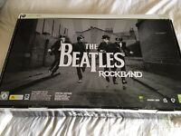 Beatles Rock Band Xbox 360 Drums, Guitar, microphone