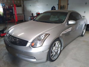 2005 Infiniti G35 Coupe 6 Speed MT