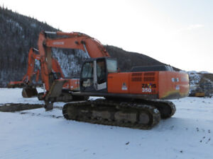 HITACHI ZX350LC-3 EXCAVATOR FOR SALE.