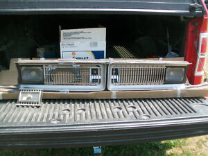 1970-71 Dodge Dart or Demon Grill at Lombardy Swap Meet.