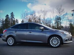 """2012 FORD FOCUS TITANIUM """"Only $86 bi-weekly 0 Down !"""""""
