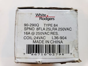 90-290Q 24-Volt Coil-Voltage SPNO RBM Type Relay, Brand New