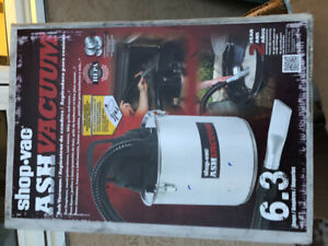 Shop vac for vacuuming out ash from fireplaces 6 AMps