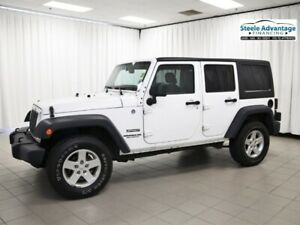 2014 Jeep Wrangler Unlimited w/Air Conditioning, Power Windows a
