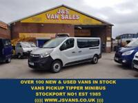 2015 65 VAUXHALL VIVARO MINIBUS L.W.B 9 SEATER LASTEST MODEL (( LOTS IN STOCK ))