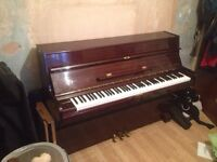 Electric upright piano