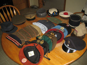 mixt lot of  army hats