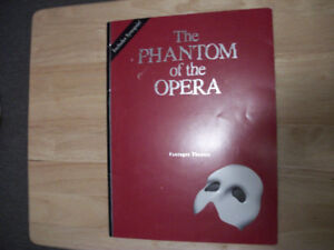 The Phantom of the Opera Pantages Theatre Programme Book