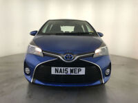 2015 TOYOTA YARIS HYBRID ICON AUTOMATIC 1 OWNER SERVICE HISTORY FREE ROAD TAX