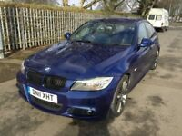BMW 3 SERIES 320d Sport Plus Edition Good / Bad Credit Car Finance (blue) 2011