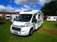 Bessacarr E560 Low profile four berth motorhome with rear fixed bed