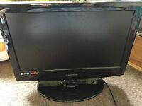 "Tevion 19"" hd ready led tv with box NO REMOTE"