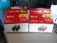 CANON BCI-6 INK - FACTORY SEALED