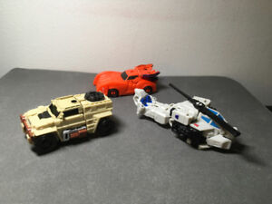 Transformers Power of the Primes. Battletrap & Outback
