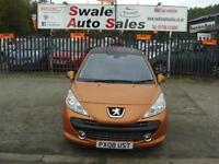 2008 PEUGEOT 207 GT THP 1.6L ONLY 77,990 MILES, FULL SERVICE HISTORY, 2 OWNERS