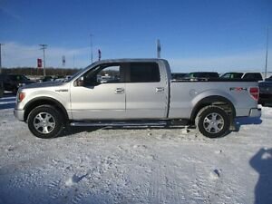 2010 Ford F-150 FX4 Crew Console Shift Lthr 4x4 Low Kms