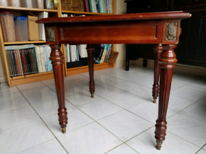 Console table with end table