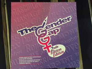 Gender Gap 2nd Edition Board Game Oakville / Halton Region Toronto (GTA) image 1