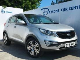 2015 15 Kia Sportage 2.0CRDi ( AWD ) ( 134bhp ) KX-3 for sale in AYRSHIRE