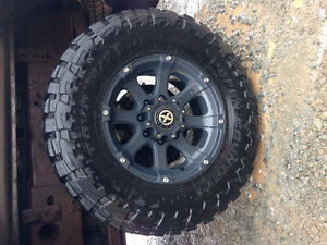 285 toyo open country on 8 bolt rims