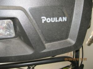 NEW   SNOWBLOWER - POULAN
