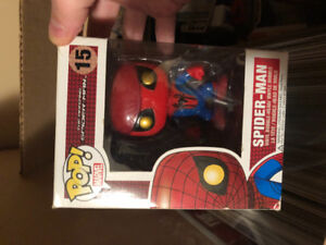 #15 Amazing Spider-Man Funko POP! Bobble head Vaulted Rare