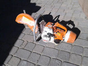 Stihl TS350 cutoff concrete saw
