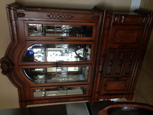 Tables cabinets, dinning sets, mirror etc