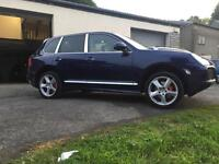 2005 55 PORSCHE CAYENNE 4.5 V8 TURBO EVERY OPTIONAL EXTRA ONLY 87000 MILES