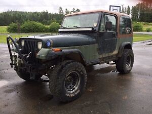 93 yj lifted on 33s trades