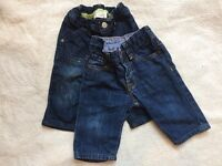 Gap baby jeans 3-6months
