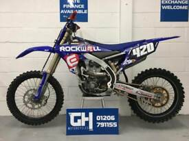 USED 2017 YAMAHA YZ250F   VERY GOOD CONDITION   FEW AFTERMARKET EXTRAS